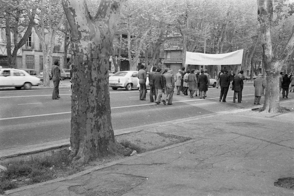 coll-vheloyan-defile-24avril1976-0045 - Année: 1976