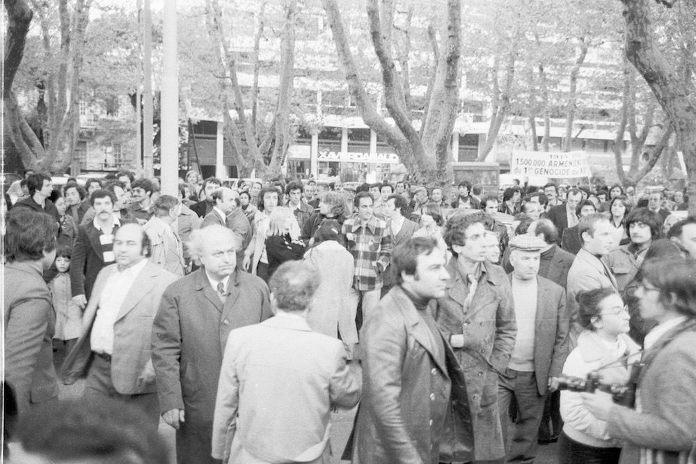 coll-vheloyan-defile-24avril1976-0078 - Année: 1976